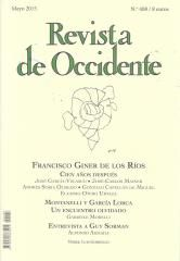 Giner en Revista de Occidente