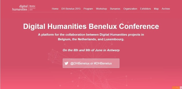 Benelux Digital Humanities