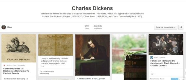 Dickens en Pinterest