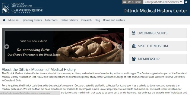 Ditrick Medical Historical Center